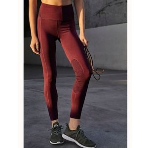 FP Movement Revise Plum Purple Mesh Panel Leggings